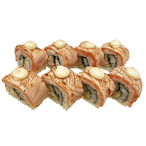 Foto Salmon on Fire Maki